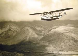 1930s Over Oahu