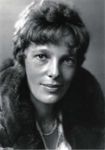 Amelia Earhart, 1930.