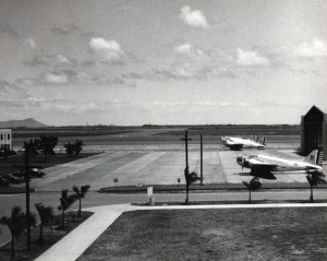 B-18s stationed at Hickam Field, c1938-1940.