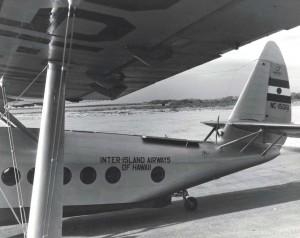 Inter-Island Airways Sikorsky S-35 amphibian.