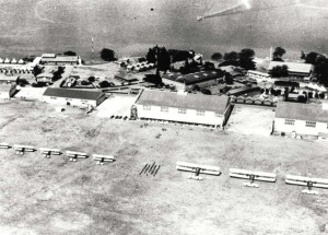 Luke Field, October 30, 1930. On right are Keystone LB-5 bombers. On left are Thomas Morse O-19 observation planes.