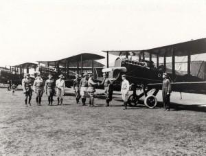 Inspection at Luke Field, 1930s.