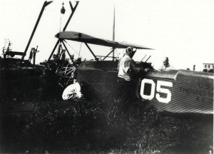 Morse Thomas O-19 Observation plane believed to be with the 4th Observation Squadron, Luke Field, 1930s.