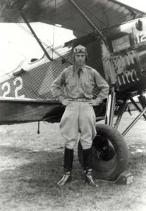 Unidentified aviator, Luke Field, 1931.