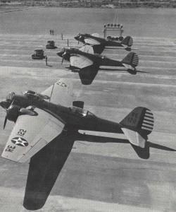 Martin B-12 stationed at Luke Field, 1930s.
