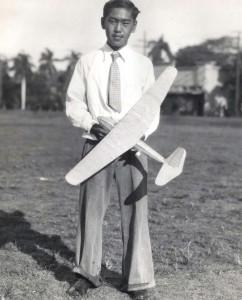 James Kagawa October 19, 1935. Five years ago he won honors as a model airplane builder. Today he is studying aeronautical design at NYU.