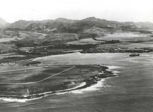 Hanapepe Landing Field, Kauai, 1932.