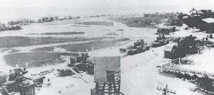 Fort Kamehameha 12-inch railway mortars, 1930s.