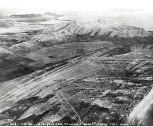 Waimanalo Ranch Landing Field, Oahu, June 1, 1933.
