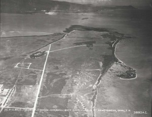 Fort Kamehameha Landing Strip, Oahu, September 14, 1936.