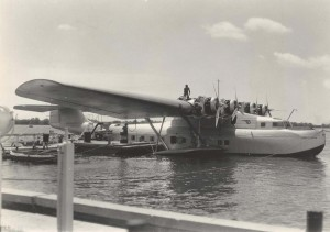 Pan American China Clipper, 1930s
