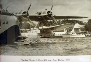 Pan American Yankee Clipper and China Clipper, 1939.