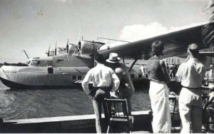 Pan American China Clipper 1930s.
