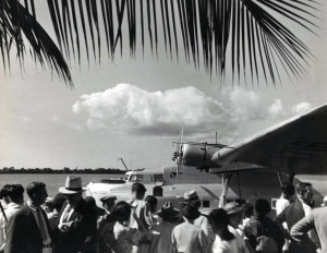 Pan American China Clipper, 1930s.