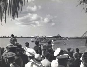 Pan American China Clipper in Honolulu