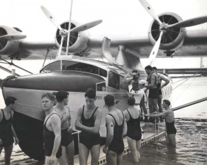 Pan American Clipper April 20, 1935