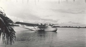 Pan American Clipper 1930s.