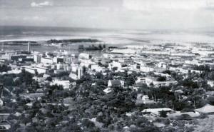 Honolulu Harbor, 1930.