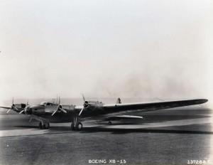 Boeing XB-15, c1930s.