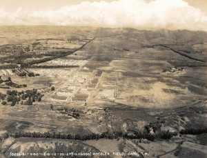 Wheeler Field, Oahu, October 12, 1933.