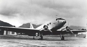 C-33 (Douglas DC-2) at Wheeler Field, 1939.