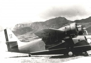Grumman OA-9 Goose, 6th Pursuit Squadron at Wheeler Field, c1939-1941.