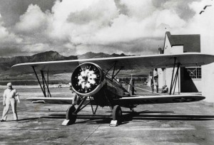 P-12 on Wheeler Field flight line, 1933.