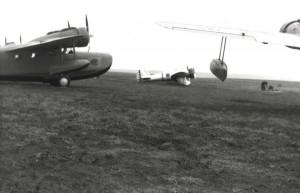 OA-9s and P-26 at Morse Field, Hawaii, c1940-1941.