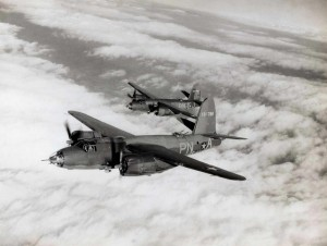 Martin B-26B Marauder, Hickam Field, 1948.