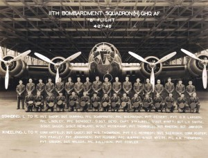 11th Bombardment Squadron, Hickam Field, April 27, 1940.