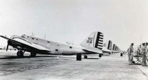 Douglas B-18 at Hickam Field, 1940s.