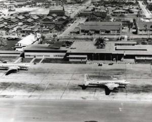 Hickam Air Transport Command Terminal, 1945.