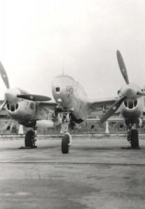 P-38 at Hickam Field, 1945