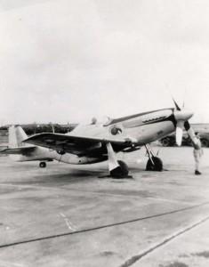 P-51D, Hickam Field, 1945.