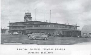 Overseas terminal building, Honolulu Airport, 1948.