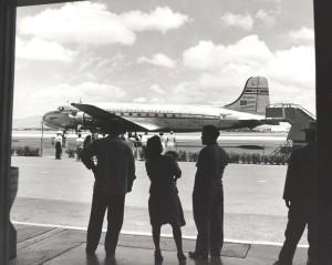 Pan American Airways Clipper Racer, Honolulu Airport.