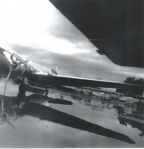 Hawaiian Airlines at John Rodgers Airport, 1940s.