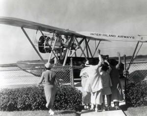 John Rodgers Airport, 1940s.