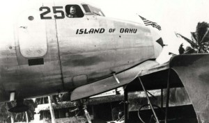 C-54 Island of Oahu at John Rodgers Airport, 1940s.