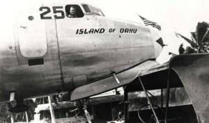 C-54 Island of Oahu at John Rodgers Airport, 1940s.