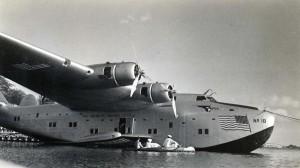 Pan American No. 18 at Keehi Lagoon Seadrome, 1940s.