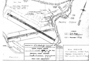 CAA Region IX, 1947 National Airport Plan, Improvements to Port Allen Airport, February 26, 1947.