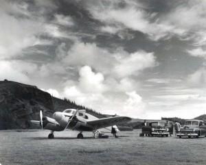 Hana (hotel), Maui, airfield, 1940s.