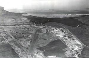 Puunene Airport, Maui, 1948.