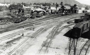 OR&L Railroad Yard, November 1941.