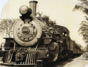Narrow Gauge OR&L Railroad Honolulu 1946