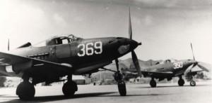 P-390 aircraft at Bellows Field, 1943.