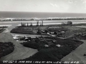 Dillingham Air Force Base, August 1, 1949.