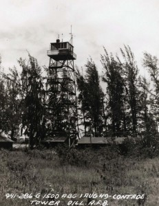 Radio antenna, Dillingham Air Force Base, August 1, 1949.