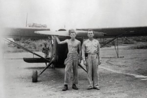 L-5 airplanes were used to spray mosquito repellant around military bases in Hawaii, in the late 1940s.
